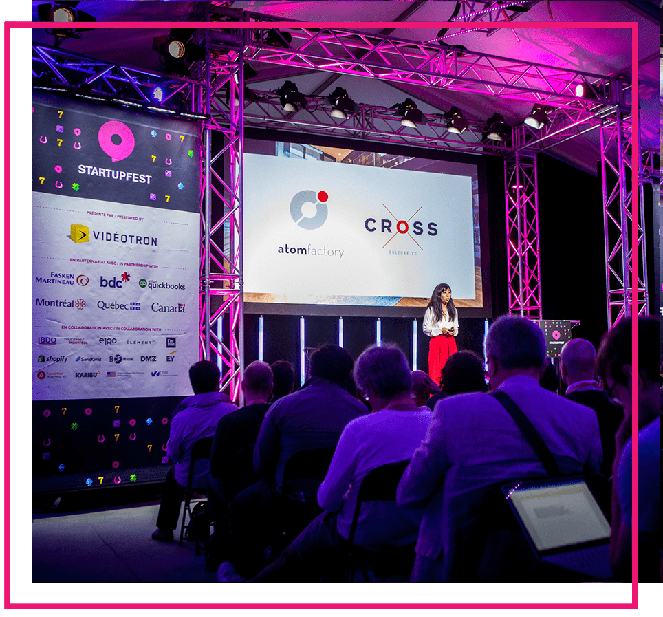 Startupfest wouldn't be possible without the support of our partners.